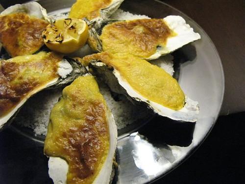 baked oysters rockefeller