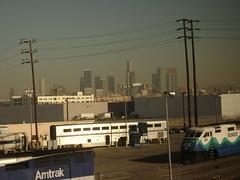 Los Angeles Amtrak yard