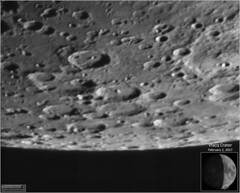 Vlacq Crater – February 2, 2017 (Tom Wildoner) Tags: tomwildoner leisurelyscientistcom leisurelyscientist moon lunar crater vlacq february 2017 weatherly pennsylvania asi290mc zwo meade telescope lx90 celestron cgemdx solarsystem nightsky night crescent astronomy astrophotography astronomer science space learn educational