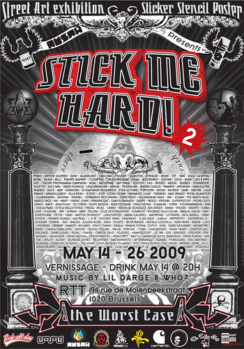 Stick Me Hard! #2 -- Streetart-Exhibition
