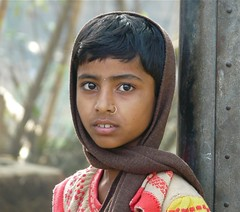 Girl's Portrait, Matiari Village, West Bengal (Sekitar) Tags: portrait india west girl village bengal sekitar matiari earthasia sekitar