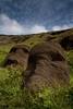20091225 Isla de Pascua 125 (blogmulo) Tags: chile travel easter island volcano ar pascua viajes crater moai easterisland isla quarry cantera rano raraku volcan isladepascua nui rapa blogmulo 200912