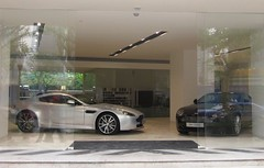 NEW ASTON MARTIN SHOWROOM IN SHANGHAI - VANTAGE AND DB9 (livinginchina4now) Tags: china new car shanghai martin display style showroom spotted luxury supercar aston spotting lu stylish vantage dbs db9 najing rapide