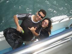 eu e Lisa (guitaiwan) Tags: taiwan penghu rotary intercambio