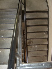 Stairs down (DeeJay Photography) Tags: school college mi campus university michigan sunny stairwell ypsilanti emu monday eastern univeristy
