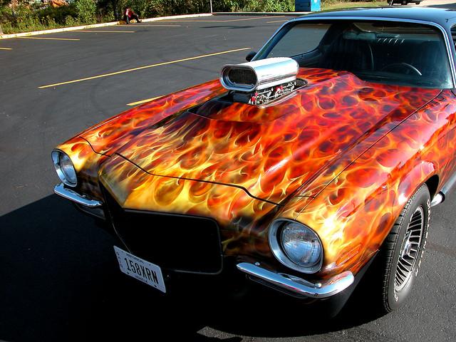 chevrolet artcar carshows dok1