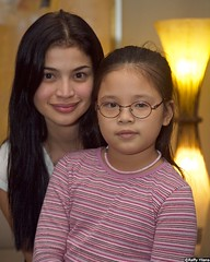 Anne Curtis and Keona Yllana (ryllana) Tags: blue cute beautiful photography anne photo image images ann gsm curtis ginebra yllana dyosa
