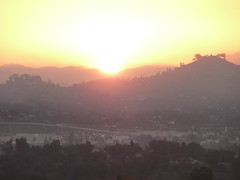 Sunrise Close-up Over Mount Helix   - SD Fire Day 5