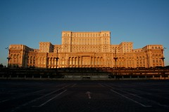 Palace of Parliament, Bucharest (iancowe) Tags: night sunrise parliament romania bucharest houseofthepeople ceausecu