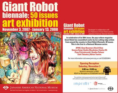Giant Robot at JANM