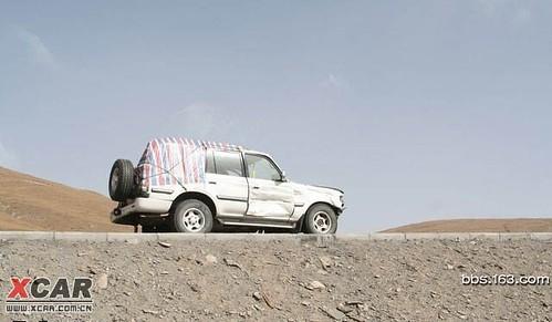 13. 高原上奔馳著一輛非常有個性的車
