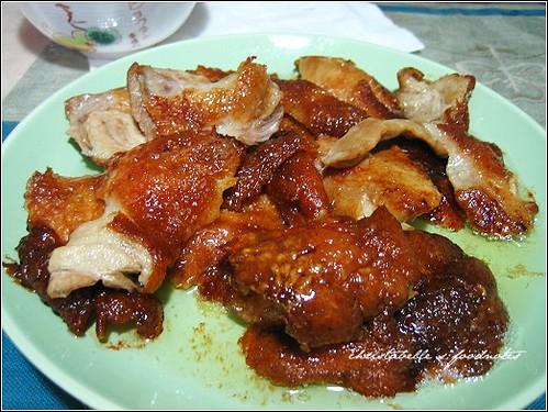 老師生日午餐天廚烤鴨鴨皮 Roasted Duck