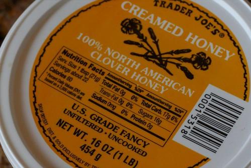 trader joes creamed honey