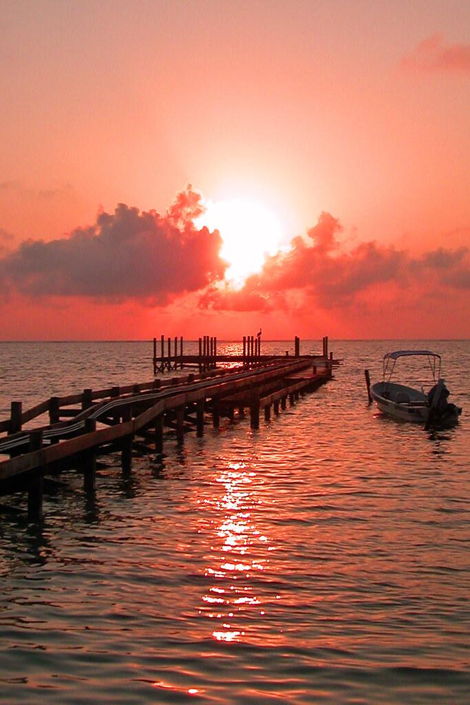 Sunrise over San Pedro