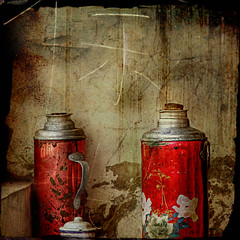 Through the Window (artsyevie) Tags: china tea thermos throughthewindow supershot artsyevie artlibre avertedvision