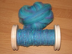 First blue bobbin.JPG
