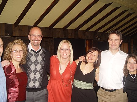 Friends: John, Shelly, Mark, Jen, Me, Mark, Kim