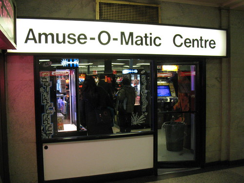 Amuse-O-Matic Centre