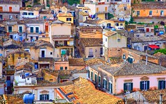I TETTI DI MODICA (peo pea) Tags: trip travel holiday color wonderful tetti sicily sicilia barocco isola modica wonderfulshot peopea