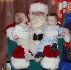 Noah & Liam & Santa1 (davidcharlesjackson) Tags: noah christmas jackson liam partly