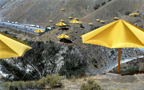 Christo's Umbrellas 1991
