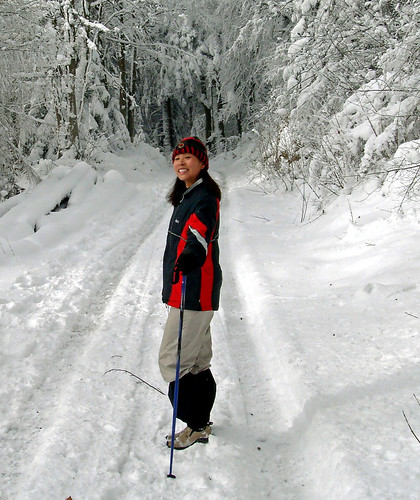 Snow Hiking with Doreen