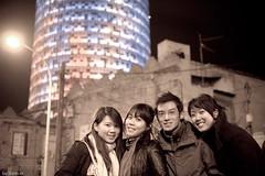 (Santcer) Tags: barcelona people espaa tower spain bcn tourist canon5d catalunya catalua agbar barna santcer canon2870mmf28usm