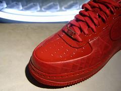af1 red croc3