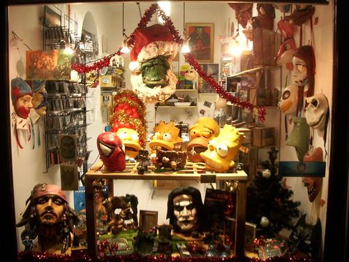 Máscaras originales en Venecia
