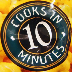 Cooks in 10 Minutes (by Timothy Valentine)