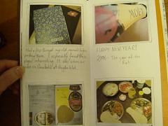 Updating my Traveler's Notebook (Shanti, shanti) Tags: japan journal travelersnotebook