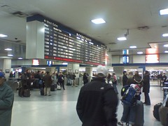 Penn Station Departures Board (Dan_DC) Tags: nyc newyork train manhattan amtrak transit departures commuters pennstation railstation bigboard pennsylvaniastation