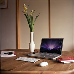 Pushing Pixels (*tk) Tags: 6x6 apple japan rolleiflex mediumformat tokyo design mac space  fujifilm  macbookpro pro400