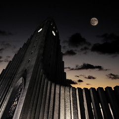 Rocket to the moon (Villi.Ingi) Tags: sky moon church up architecture night canon square iceland bravo gothic dramatic wideangle spooky explore expressionist getty artdeco rocket gotham 1020mm cinematic reykjavk hallgrmskirkja gettyimages dreamcatcher kirkja palabra sigma1020mm themoulinrouge 500x500 pipc dapa littlestories 40d dapagroup goldenphotographer samspil dapagroupmeritaward expressionistarchitecture betterthangood theroadtoheaven world100f picswithsoul ilovedarkphotos dapagroupmeritaward3 dapagroupmeritaward5 dapagroupmeritaward4 mastersoflifegalerry winner500 masterpiecesoflightdark