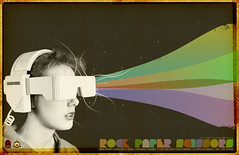 VR Goggles Web (jon_mutch) Tags: vintage goggles retro tape rockpaperscissors distressed vr