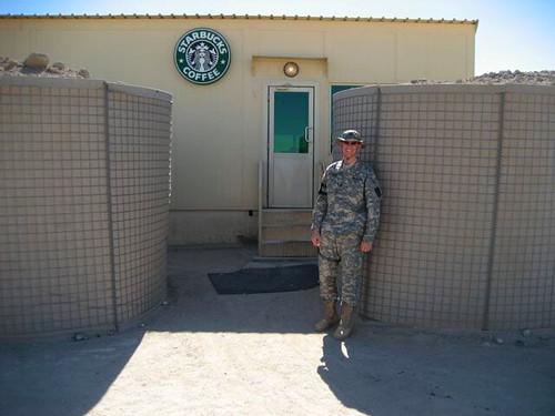 Karl at Starbucks - Kuwait
