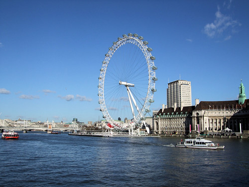 london eye. The London Eye.