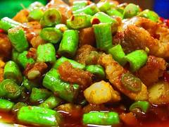 My Love Thai Food..Moo Pad Prig Gaeng (Stir-Fried Pork with Chili Paste)..