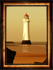 The Lighthouse 1 (Fanatical Apathist) Tags: lighthouse beach coast northwest samsung frame wirral newbrighton merseyside digimax pro815 samsungpro815 newbrightonlighthouse platinumphoto superbmasterpiece