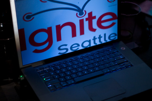 Ignite Seattle Screen