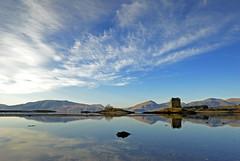 castle stalker (simon lennox) Tags: reflection castle scotland stalker appin