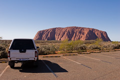 Ayers Rock Sunset Viewpoint Parking