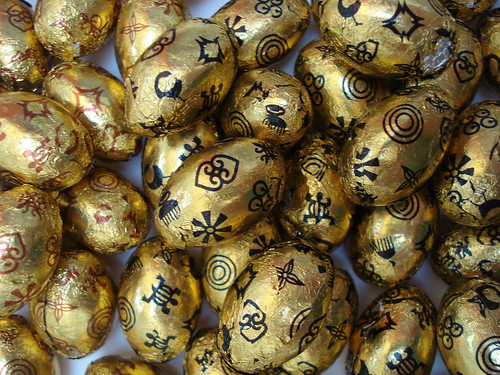 Divine choclate easter eggs