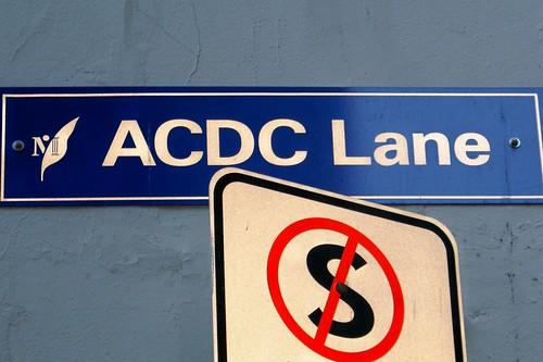 AC/DC LANE..MELBOURNE