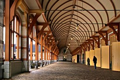 Royal Stables and Coach-houses (Pieter Musterd) Tags: holland lines canon curves nederland thenetherlands royal palace apeldoorn stables stallen paleis koninklijk royalstables blueribbonwinner hetloo linesandcurves flickrsbest pieter007 coachhouses mywinners canoneos400d platinumphoto onlythebestare pietermusterd koetshuizen