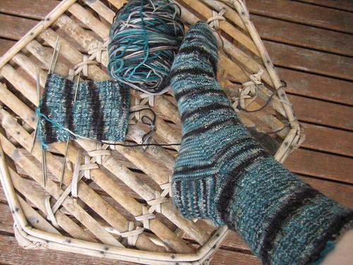 Clare's socks