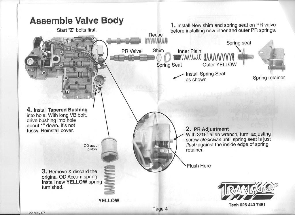 46re Main Line Pressure Adjustment - DodgeTalk : Dodge Car