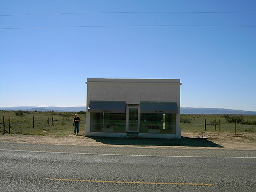 Prada Marfa by Chacal la Chaise