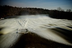tempest at healey falls (n+s) Tags: longexposure morning sky sun water night canon stars flow dawn solar early intense falls severn fullmoon trent rush healey waterwall 1dmark3 ef1635mmf28liiusm