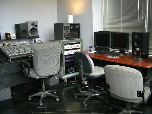 Recording Studio at Absolute Rehearsal